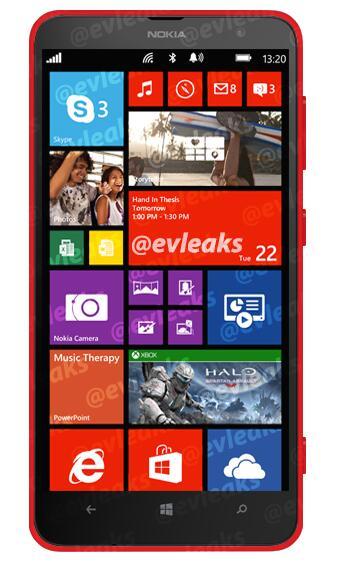 """Neue Fotos zum Nokia Lumia 1320 (Codename """"Batman"""") geleakt"""