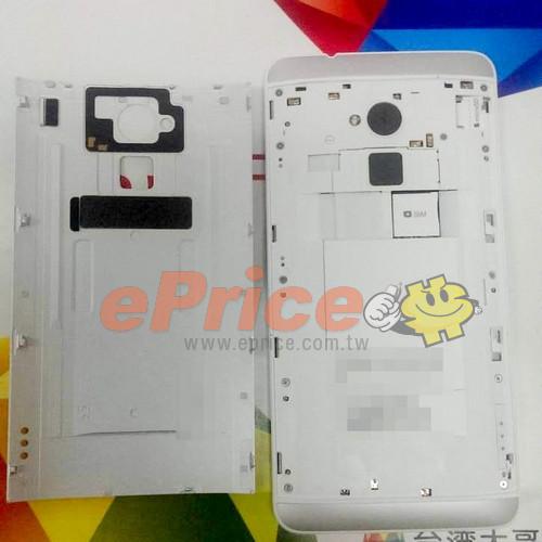 Erneute Bilder vom HTC One Max aufgetaucht – 8 MP Kamera bestätigt
