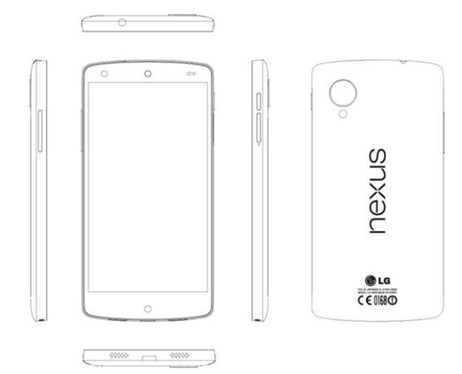 """Nexus 5 """"Wartungshandbuch"""" aufgetaucht – Design & Hardware bestätigt"""