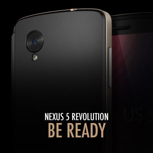 Nexus 5 von Spigen SGP angeteasert