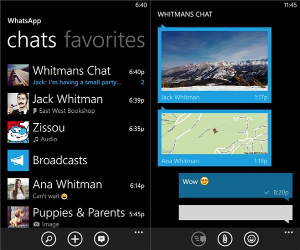 Kommendes WhatsApp-Update für Windows Phone bring Rotationssperre und mehr mit