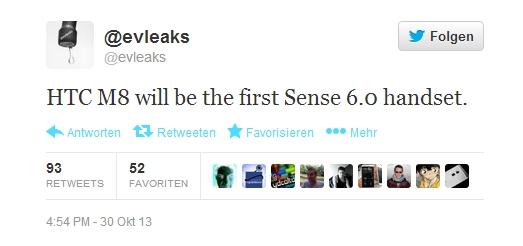 """Überarbeitetes HTC One mit dem Codenamen """"HTC M8"""" kommt mit Sense 6.0"""