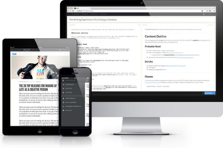 """Neue Blogging-Software """"Ghost"""" verfügbar"""