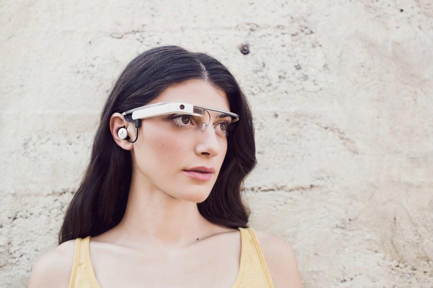 """Neue """"Google Glass"""" mit Kopfhöreranschluss gesichtet"""