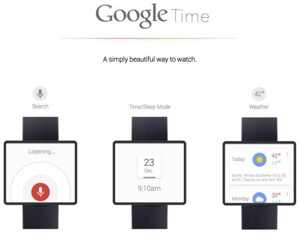 Google demnächst mit eigener Smartwatch