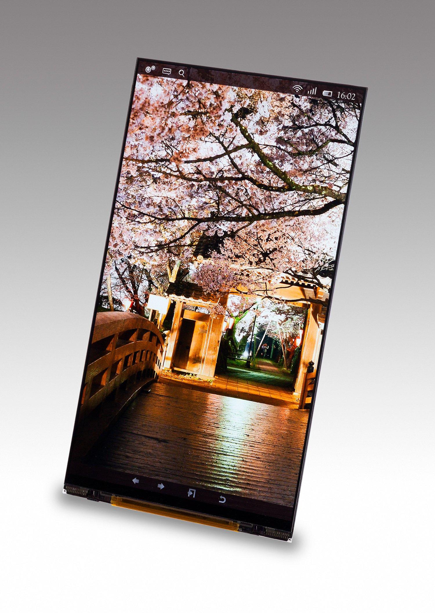 Japan Display im nächsten Jahr mit 2560 x 1440 Pixeln in 5,4 & 6,2 Zoll Displays