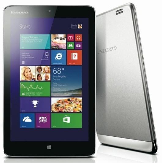 """Lenovo stellt 8 Zoll Windows 8.1 Tablet """"Miix 2"""" vor"""