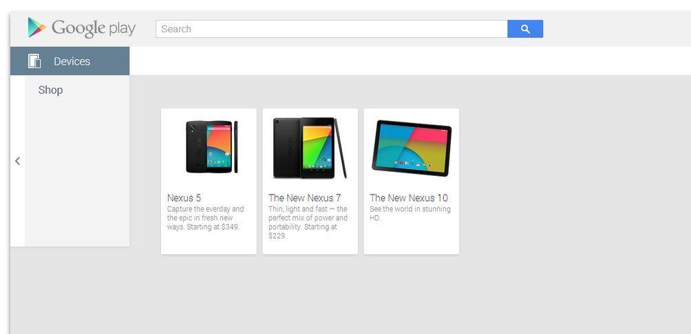 """Neues """"Nexus 10"""" kurzzeitig im Play Store gesichtet"""