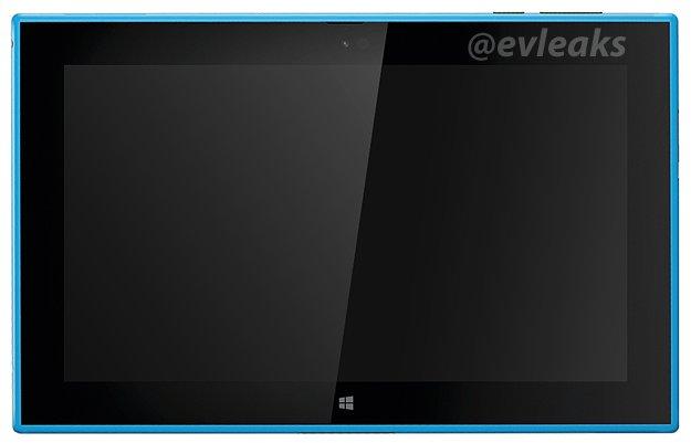 Neues Bild vom Nokia Lumia 2520 in Cyan geleakt