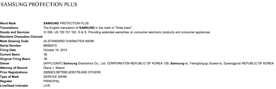 """Bringt Samsung eine Garanieerweiterung mit """"Samsung Protection Plus"""" ?"""