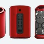 Einzelstück für den guten Zweck: Mac Pro 2013 in rot