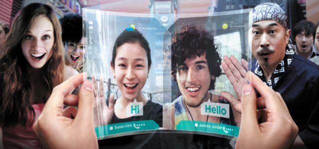 """""""Samsung Galaxy Round """" möglicherweise noch in dieser Woche sowie weitere flexible Displays für Smartphones angekündigt"""