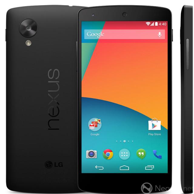 Nexus 5 zeigt sich kurzzeitig im Google Play Store für 349,- Dollar