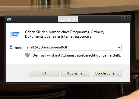 Neue Shell Commands in Windows 8.1