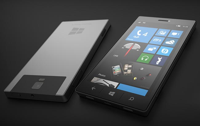 Windows Phone 8.1 für Displays bis 10 Zoll und ohne Zurück-button