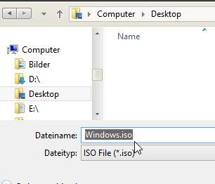 windows 8 iso erneut herunterladen