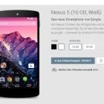 "Google stellt das ""Nexus 5"" offiziell vor"