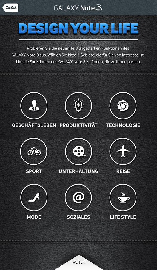 """Samsung stellt """"GALAXY Note 3 Einführung"""" App bereit"""
