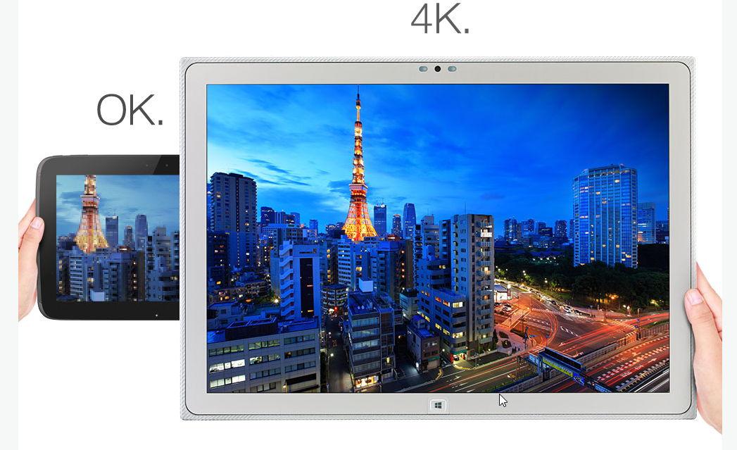 Panasonic kommt mit einem 20 Zoll Tablet und 4 K (Video)
