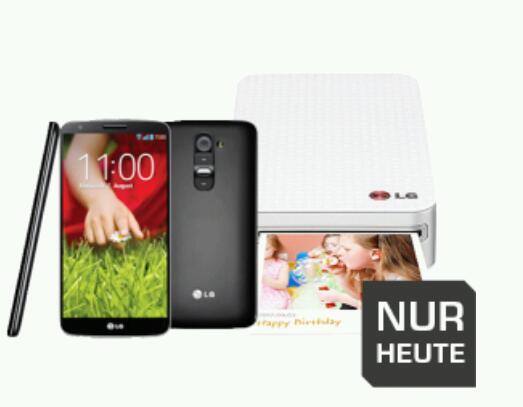 LG G2 + Fotodrucker heute beim Super-Sunday von Saturn im Angebot