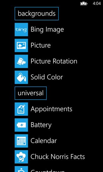 """Mit """"Lockmix"""" den Sperrbildschirm von Windows Phone 8 bearbeiten"""