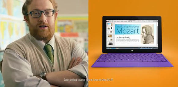 Microsoft veröffentlicht neues Video zum Surface 2