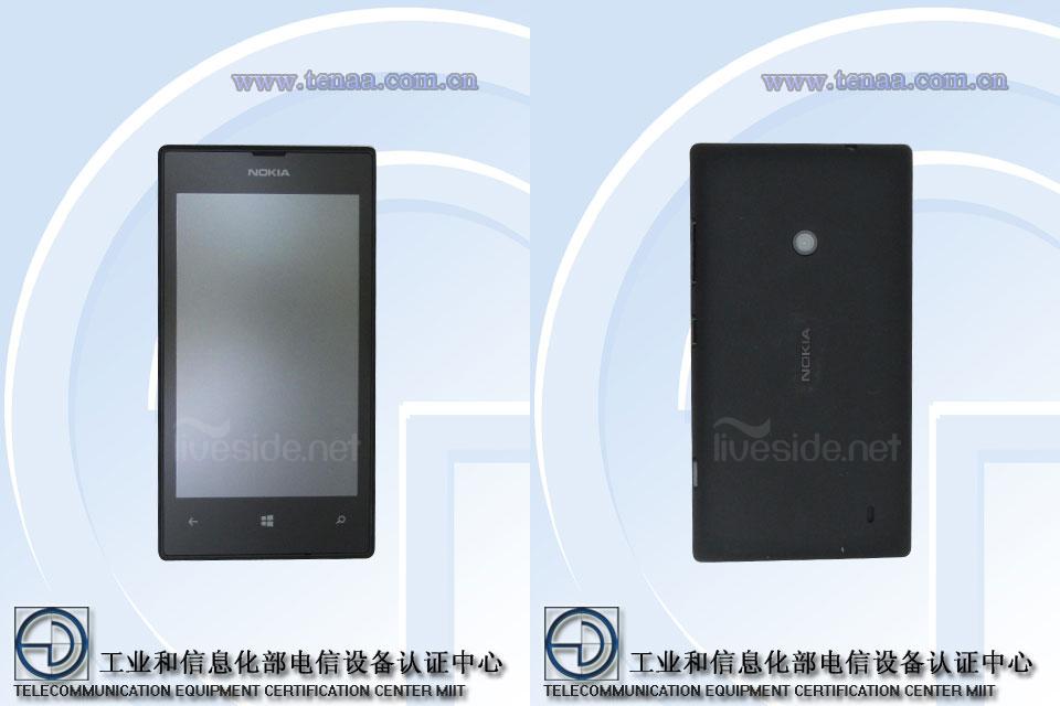 """Erste Bilder zum Nokia Lumia 525 (Nokia """"Glee"""") geleakt"""