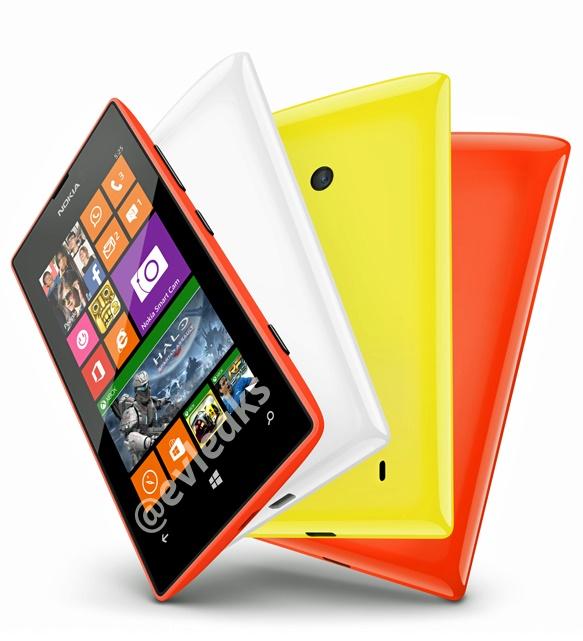 Weiteres Bild zeigt Nokia Lumia 525 in verschiedenen Farben