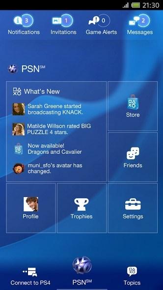 Sony aktualisiert PlayStation App – Jetzt mit PS4 kompatibel