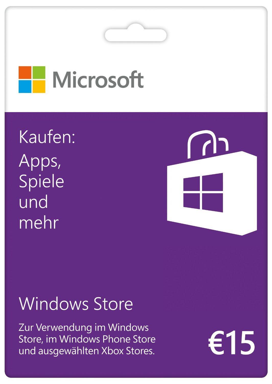 [Kurzinfo] Microsoft Gutscheinkarten verfügbar