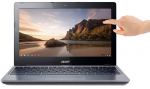chromebook touch