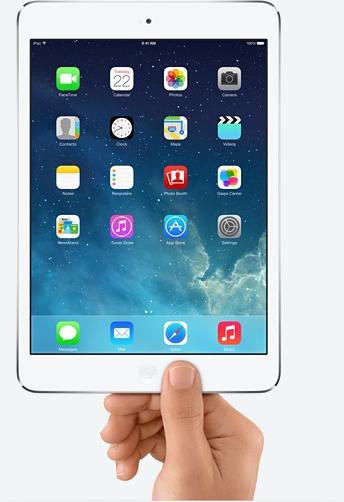 iPad mini mit Retina Display ab sofort verfügbar