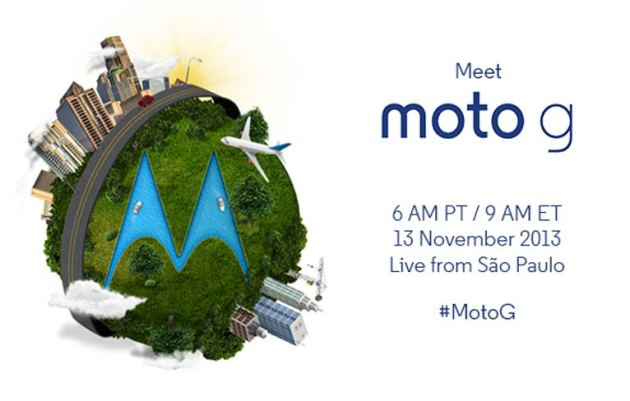 """Motorola´s Livestream zur Präsentation des """"Moto G"""" heute ab 15 Uhr"""