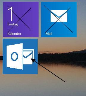 Outlook-App soll vielleicht bald die Mail und Kalender-App unter Windows 8.1 ersetzen