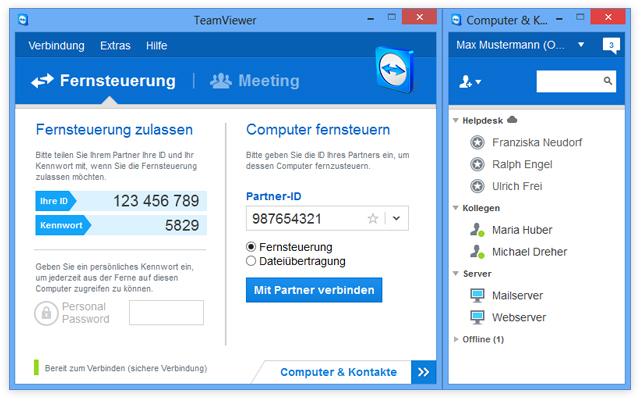 Teamviewer in Version 9 erschienen