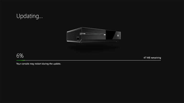 [Kurzinfo] Erstes Systemupdate für die Xbox One verfügbar