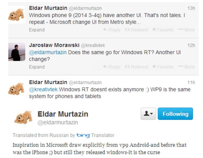 """Windows Phone 9 wird die Verschmelzung von Windows Phone & Windows RT – Design soll """"Android inspiriert"""" sein"""