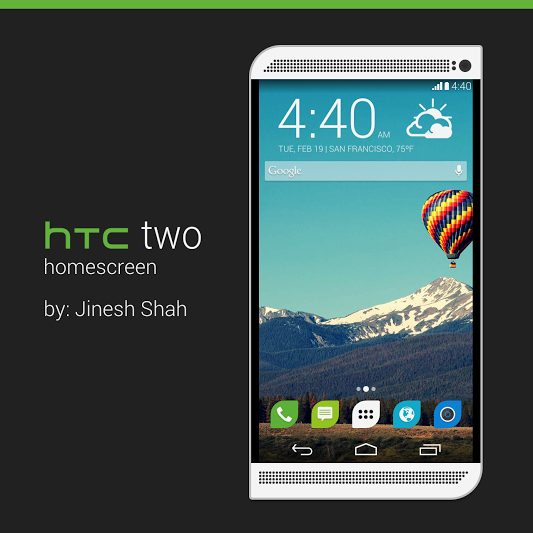 Konzept zum HTC One Nachfolger mit HTC Sense 6.0
