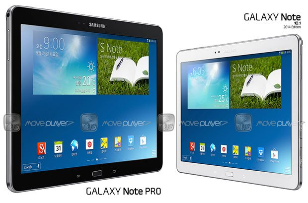 """""""Samsung Galaxy Note Pro"""" – Vermeintliches Pressebild des 12,2 Zoll Tablets aufgetaucht"""