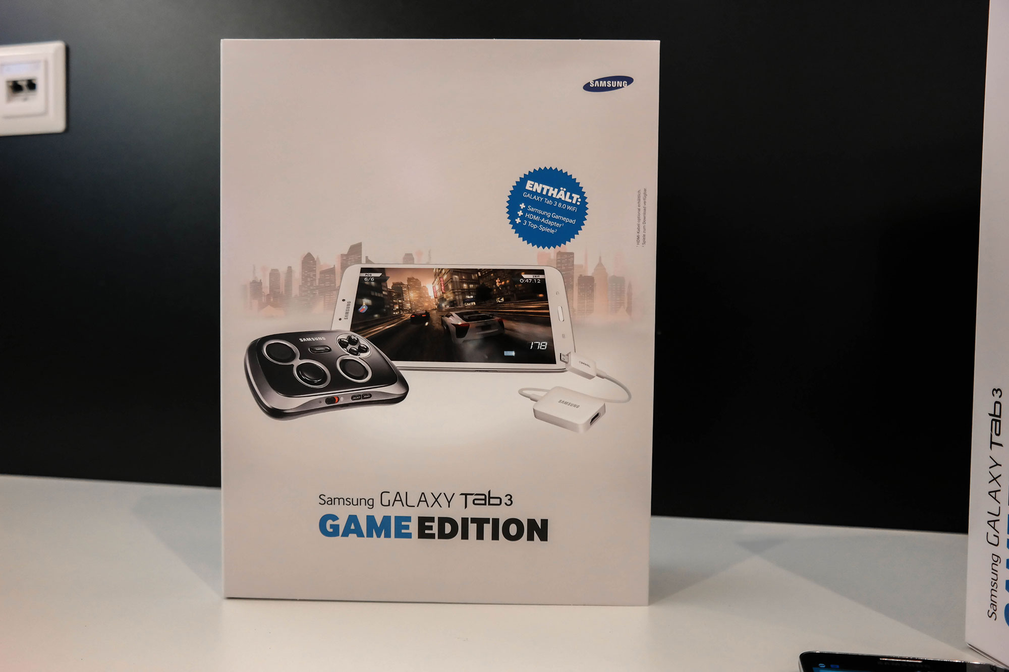 Samsung Galaxy Tab 3 Game Edition – Bundle aus Galaxy Tab 3 & GamePad kommt