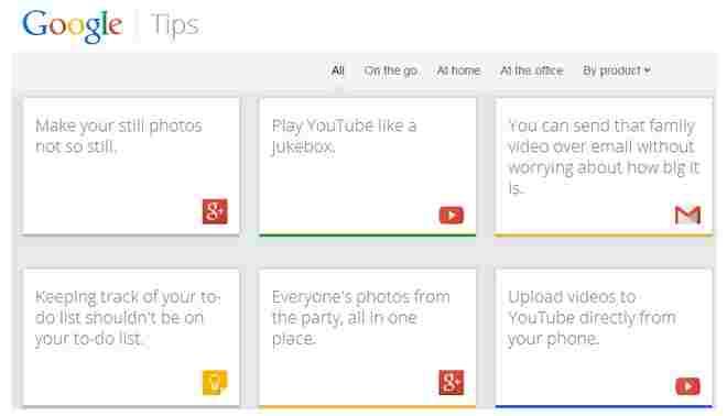 Google gibt Hilfestellungen für Neueinsteiger zu hauseigenen Diensten