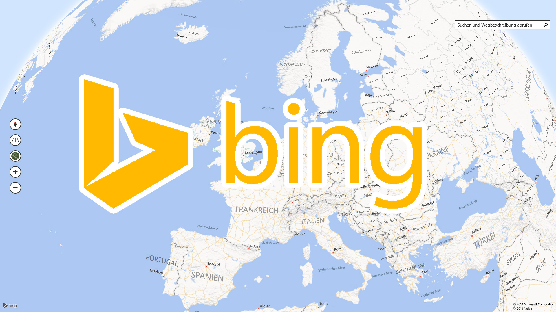 Gallery For ... Bing Maps
