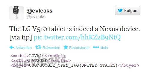 LG V510 – Nexus 8 oder doch LG G Pad 8.3 mit LTE ?