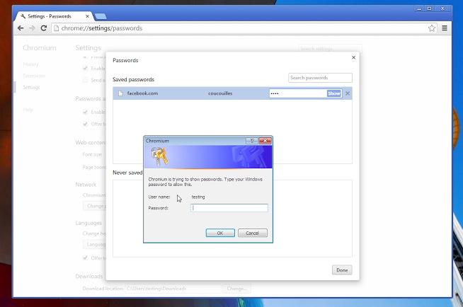 Passwortspeicher von Chrome wird separaten Passwortschutz bekommen