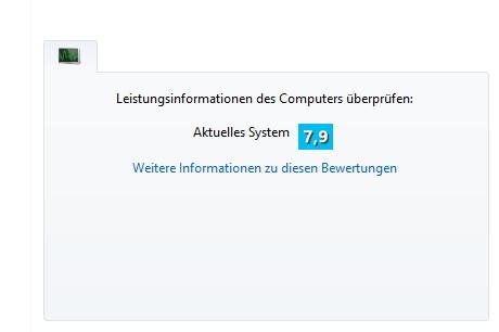 Leistungsindex in Windows 8.1 nicht mehr vorhanden? Von wegen!