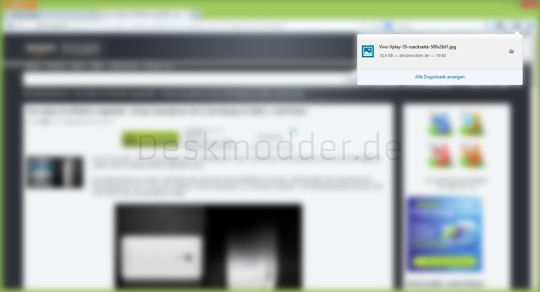 Die Sache mit dem Firefox und dem Download-Fenster
