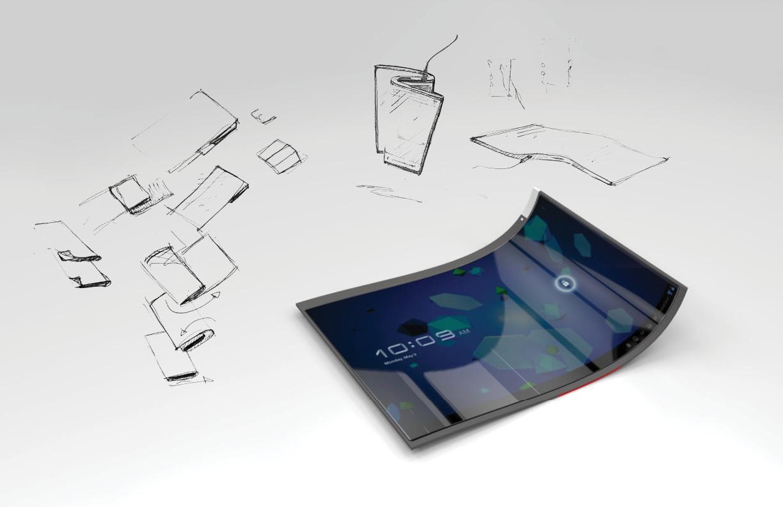 Foldiplay mit Display-Konzept der Zukunft