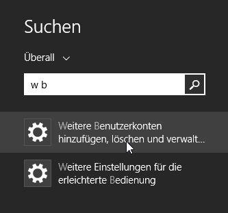 Ergebnisse in der Suche von Windows 8.1 schneller finden