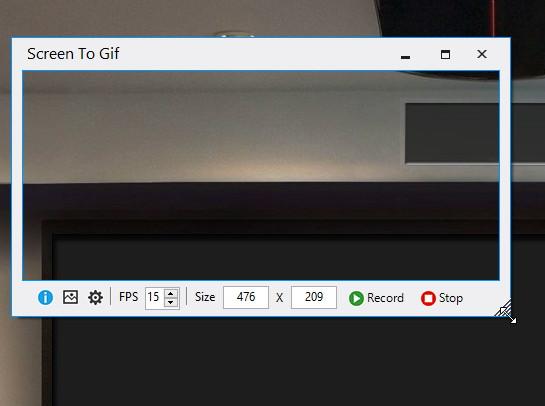 Screen To Gif – Eine Aufnahme vom Desktop als gif Datei speichern