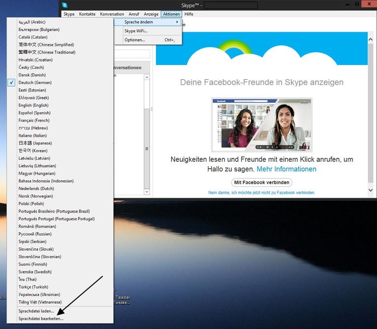 Skype 6.x -Werbung ganz einfach entfernen